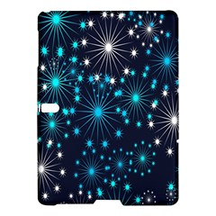 Digitally Created Snowflake Pattern Samsung Galaxy Tab S (10 5 ) Hardshell Case  by Nexatart