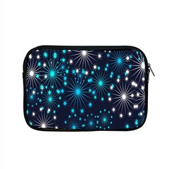 Digitally Created Snowflake Pattern Apple Macbook Pro 15  Zipper Case by Nexatart