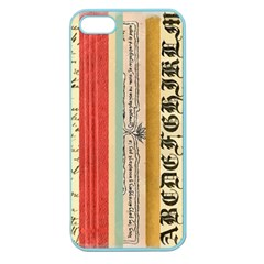 Digitally Created Collage Pattern Made Up Of Patterned Stripes Apple Seamless Iphone 5 Case (color) by Nexatart