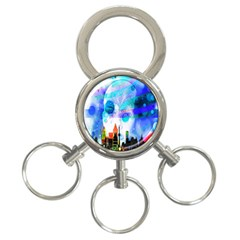 Dirty Dirt Spot Man Doll View 3 Ring Key Chains