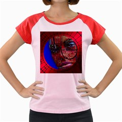 Display Dummy Binary Board Digital Women s Cap Sleeve T Shirt by Nexatart