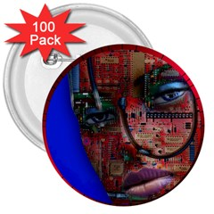 Display Dummy Binary Board Digital 3  Buttons (100 Pack)  by Nexatart