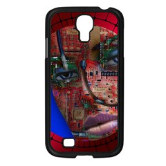 Display Dummy Binary Board Digital Samsung Galaxy S4 I9500/ I9505 Case (black) by Nexatart
