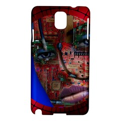 Display Dummy Binary Board Digital Samsung Galaxy Note 3 N9005 Hardshell Case by Nexatart