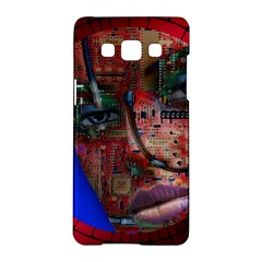 Display Dummy Binary Board Digital Samsung Galaxy A5 Hardshell Case  by Nexatart
