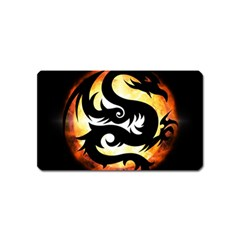 Dragon Fire Monster Creature Magnet (name Card)