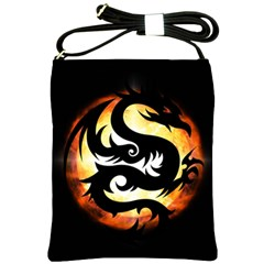 Dragon Fire Monster Creature Shoulder Sling Bags