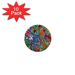 Dubai Abstract Art 1  Mini Buttons (10 Pack)  by Nexatart