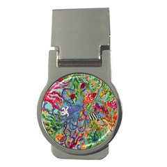 Dubai Abstract Art Money Clips (round)