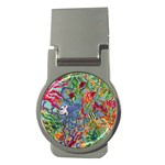 Dubai Abstract Art Money Clips (Round)  Front