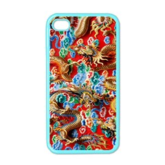 Dragons China Thailand Ornament Apple Iphone 4 Case (color)