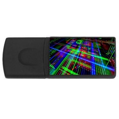 Electronics Board Computer Trace Usb Flash Drive Rectangular (4 Gb) by Nexatart