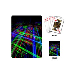 Electronics Board Computer Trace Playing Cards (mini)