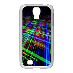 Electronics Board Computer Trace Samsung Galaxy S4 I9500/ I9505 Case (white) by Nexatart