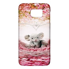 Elephant Heart Plush Vertical Toy Galaxy S6