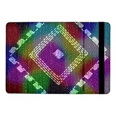 Embroidered Fabric Pattern Samsung Galaxy Tab Pro 10 1  Flip Case