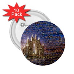 Dubai 2 25  Buttons (10 Pack)