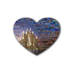 Dubai Heart Coaster (4 Pack)