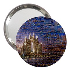 Dubai 3  Handbag Mirrors by Nexatart