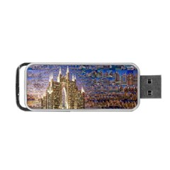 Dubai Portable Usb Flash (two Sides)