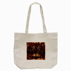 Eye Of The Tiger Tote Bag (cream)