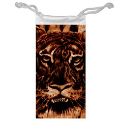 Eye Of The Tiger Jewelry Bag