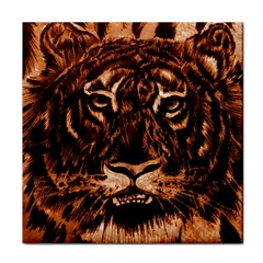 Eye Of The Tiger Face Towel