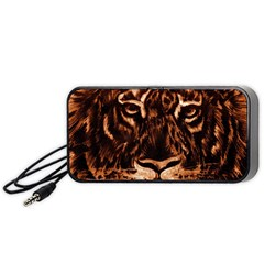 Eye Of The Tiger Portable Speaker (black)