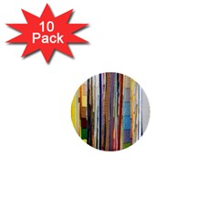 Fabric 1  Mini Buttons (10 Pack)