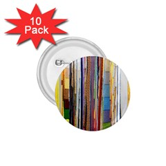 Fabric 1 75  Buttons (10 Pack)