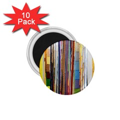 Fabric 1 75  Magnets (10 Pack)
