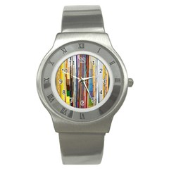 Fabric Stainless Steel Watch