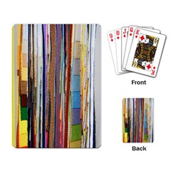 Fabric Playing Card