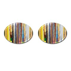 Fabric Cufflinks (oval)