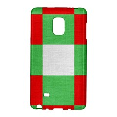 Fabric Christmas Colors Bright Galaxy Note Edge by Nexatart