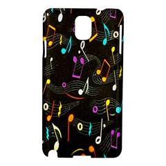 Fabric Cloth Textile Clothing Samsung Galaxy Note 3 N9005 Hardshell Case by Nexatart