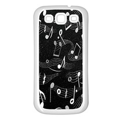 Fabric Cloth Textile Clothing Samsung Galaxy S3 Back Case (white) by Nexatart