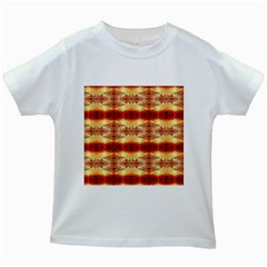 Fabric Design Pattern Color Kids White T-shirts by Nexatart