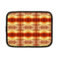 Fabric Design Pattern Color Netbook Case (small)  by Nexatart