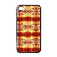Fabric Design Pattern Color Apple Iphone 4 Case (black) by Nexatart