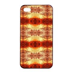 Fabric Design Pattern Color Apple Iphone 4/4s Seamless Case (black) by Nexatart
