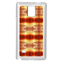 Fabric Design Pattern Color Samsung Galaxy Note 4 Case (white) by Nexatart