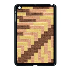 Fabric Textile Tiered Fashion Apple Ipad Mini Case (black)