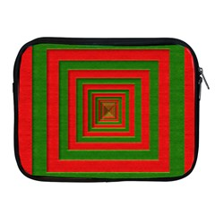 Fabric Texture 3d Geometric Vortex Apple Ipad 2/3/4 Zipper Cases