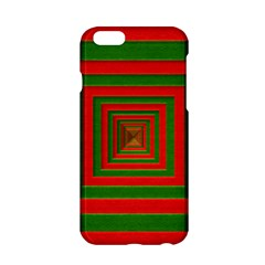 Fabric Texture 3d Geometric Vortex Apple Iphone 6/6s Hardshell Case by Nexatart