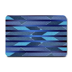 Fabric Texture Alternate Direction Small Doormat