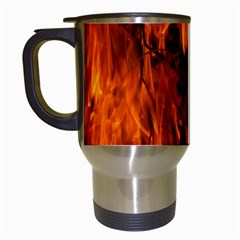 Fire Easter Easter Fire Flame Travel Mugs (white)