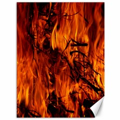 Fire Easter Easter Fire Flame Canvas 36  X 48   by Nexatart
