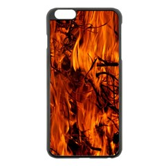 Fire Easter Easter Fire Flame Apple Iphone 6 Plus/6s Plus Black Enamel Case by Nexatart
