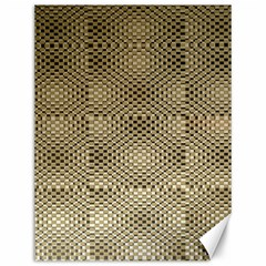 Fashion Style Glass Pattern Canvas 12  X 16